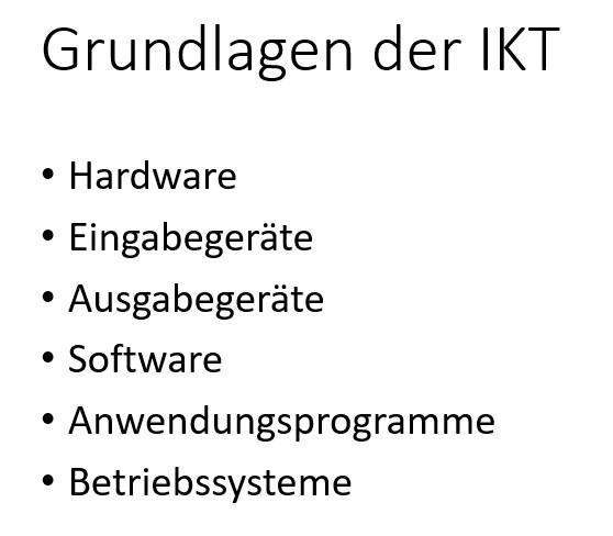 6 Grundlagen der IKT