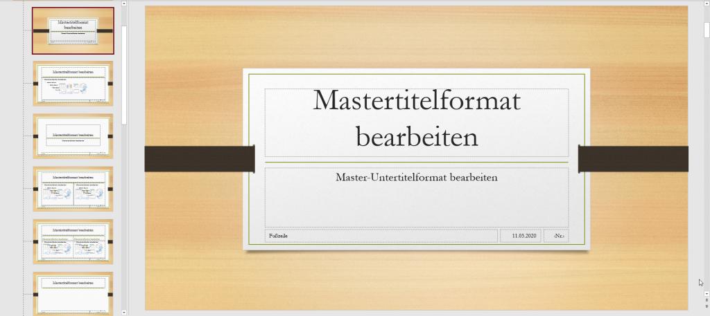 PowerPoint Masteransicht1