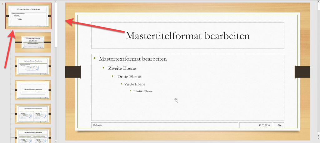 PowerPoint Masteransicht2